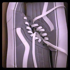 Gray vans
